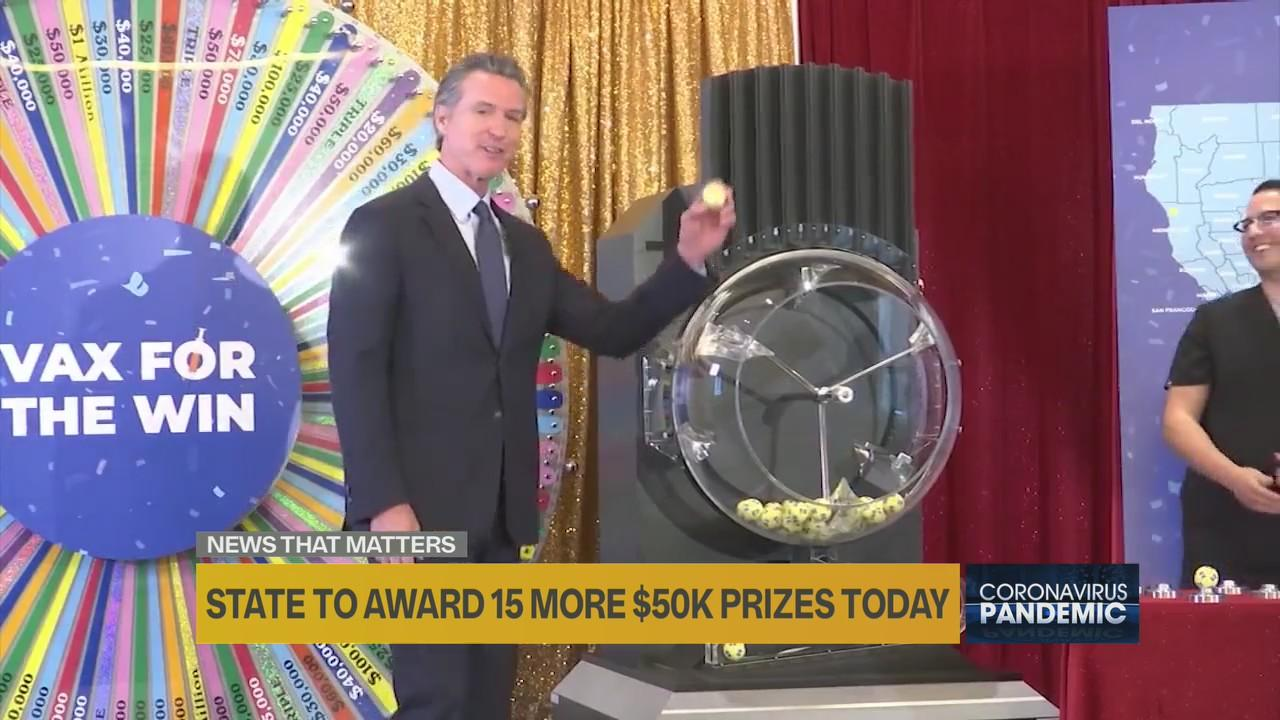 California to award 15 more winners with $50,000 in 'Vax for the Win' program