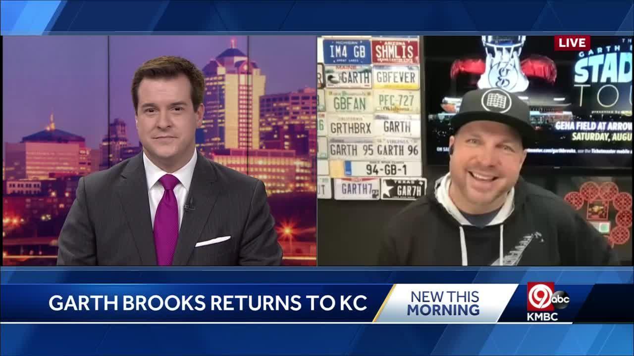 Garth Brooks: 'Kansas City is always worth the wait for me'