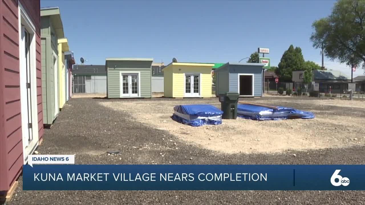 Kuna Market Village project nears completion