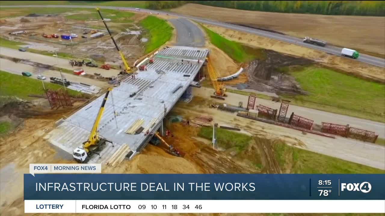 Senators agree on infrastructure plan