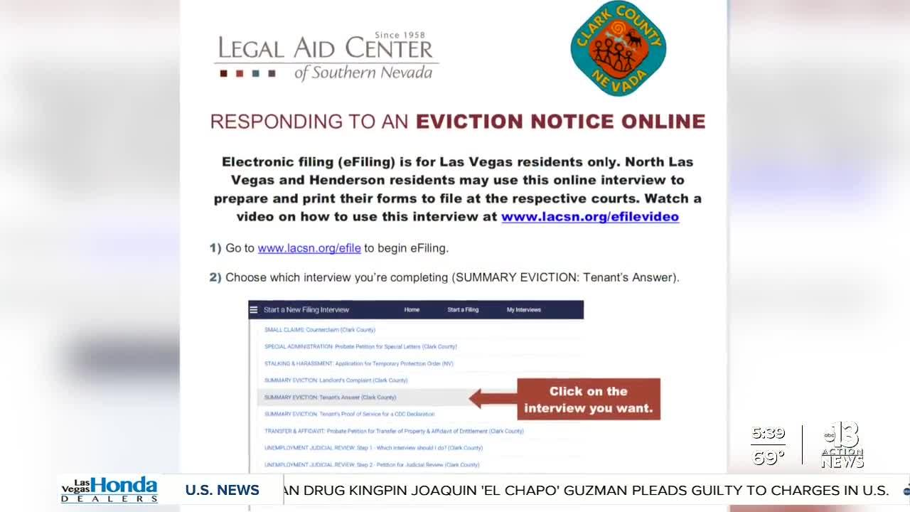 Free legal help for tenants