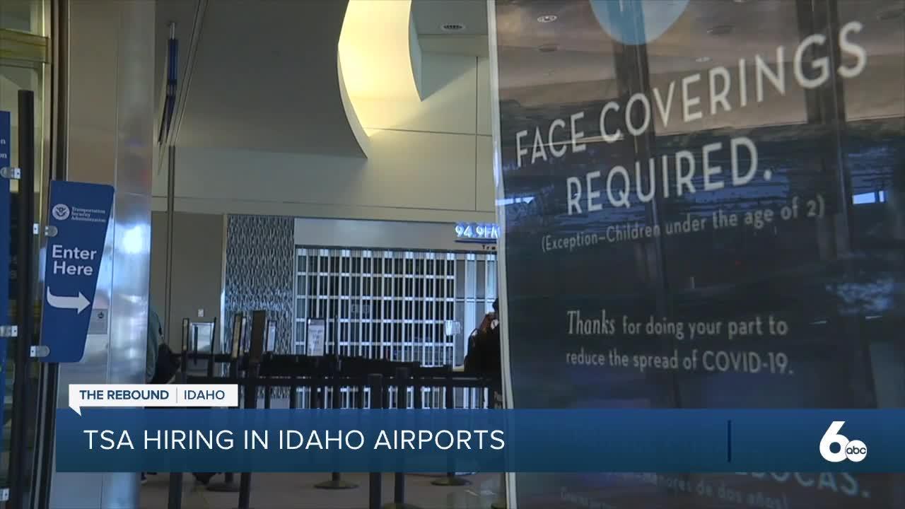 TSA hiring at two Idaho airports to accommodate summer travel increase