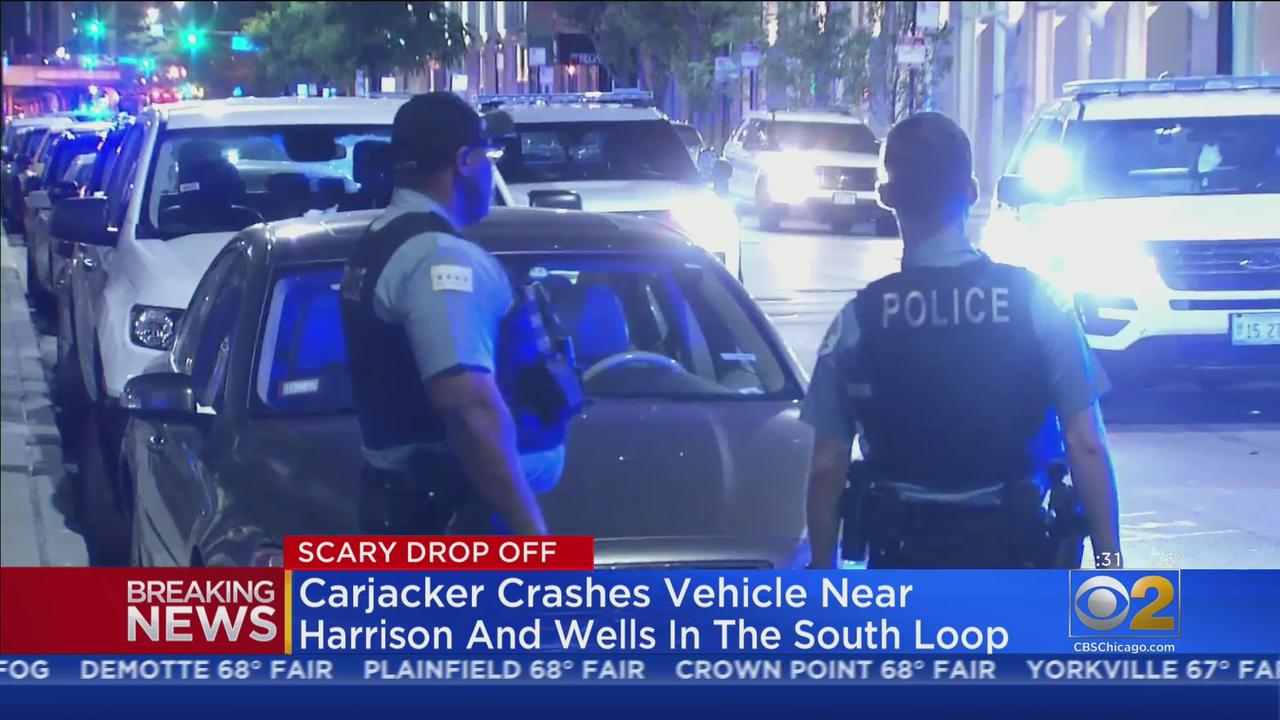 Carjacker Arrested After Crashing Stolen Car In South Loop