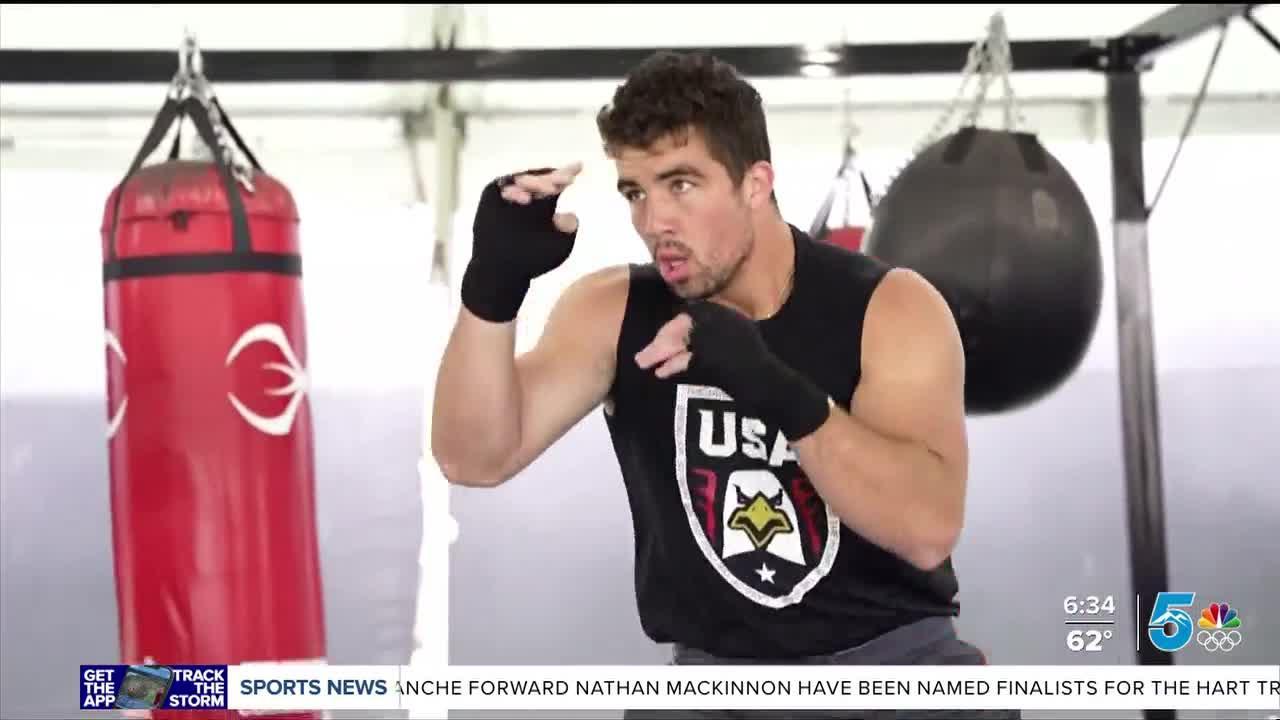 Two USA Boxers prepare for Tokyo