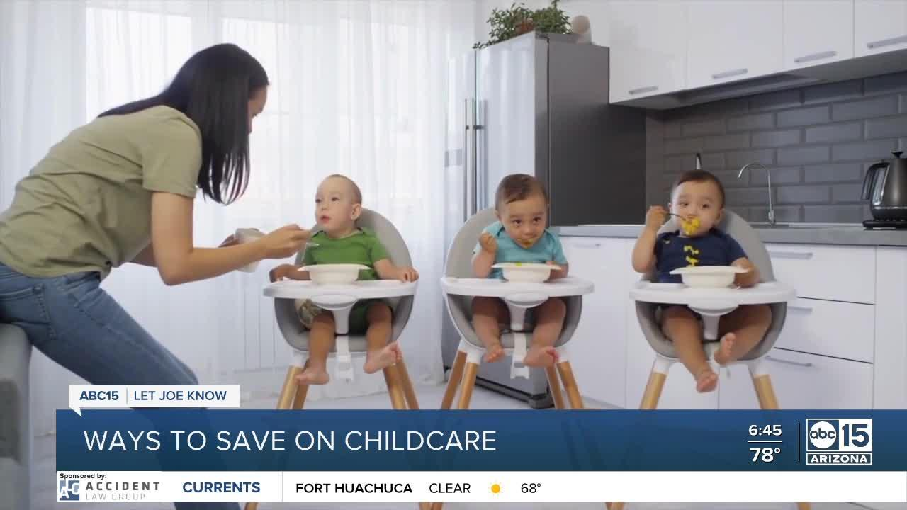 Ways to save on childcare