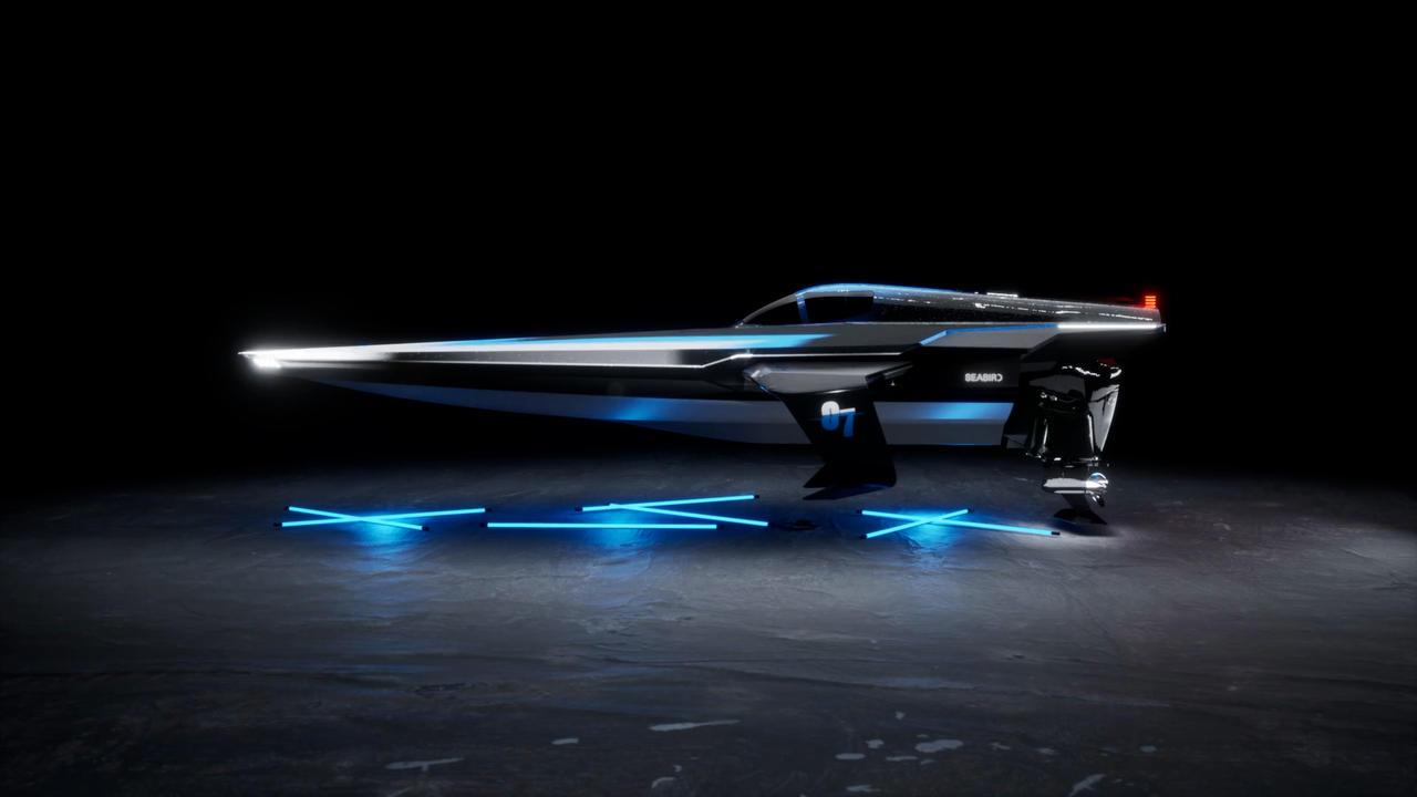 Ce bateau révolutionnaire va participer à la 1e course de hors-bords électriques du monde