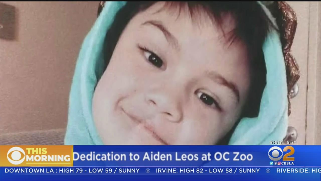 Aiden Leos, Boy Killed In Road Rage Shooting, To Receive Plaque At Orange County Zoo