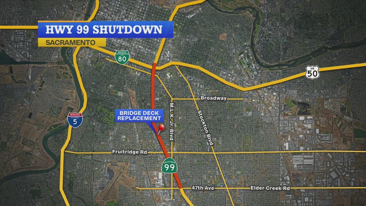 Caltrans director discusses Highway 99 closure