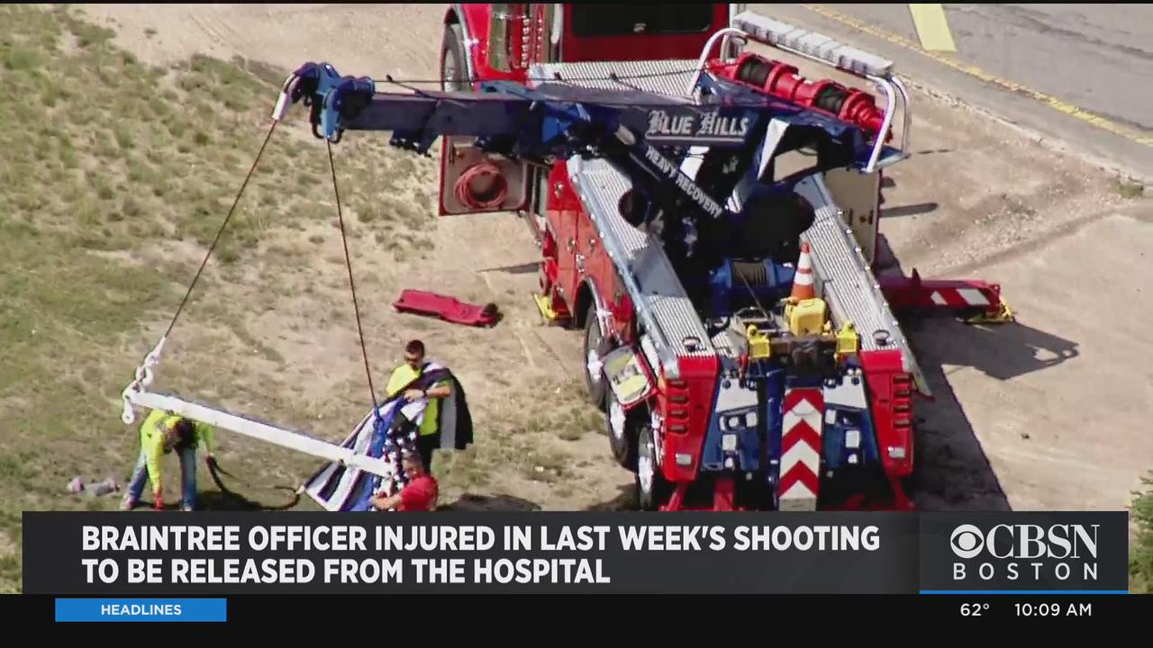 Braintree Police Officer Bill Cushing To Be Released From Hospital Week After Shootout