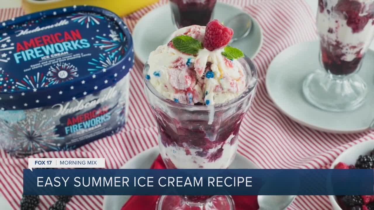Hudsonville Ice Cream treats