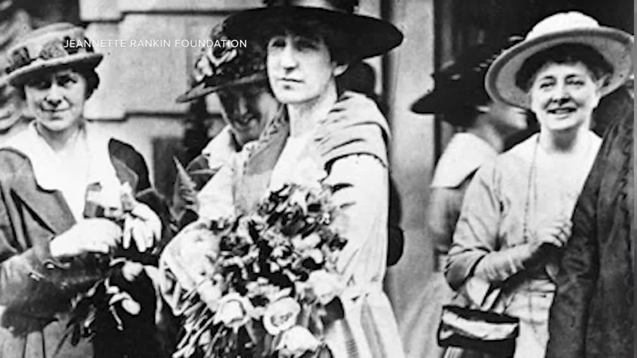 Group wants to commemorate Jeannette Rankin with a special quarter