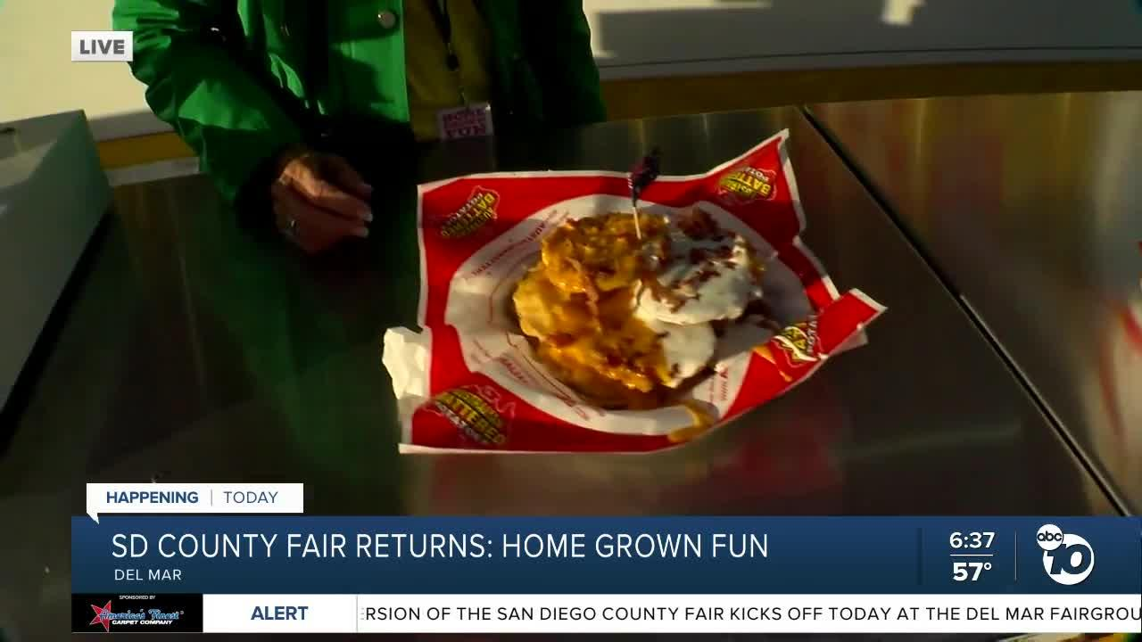 Food vendor speaks on opening of SD County Fair