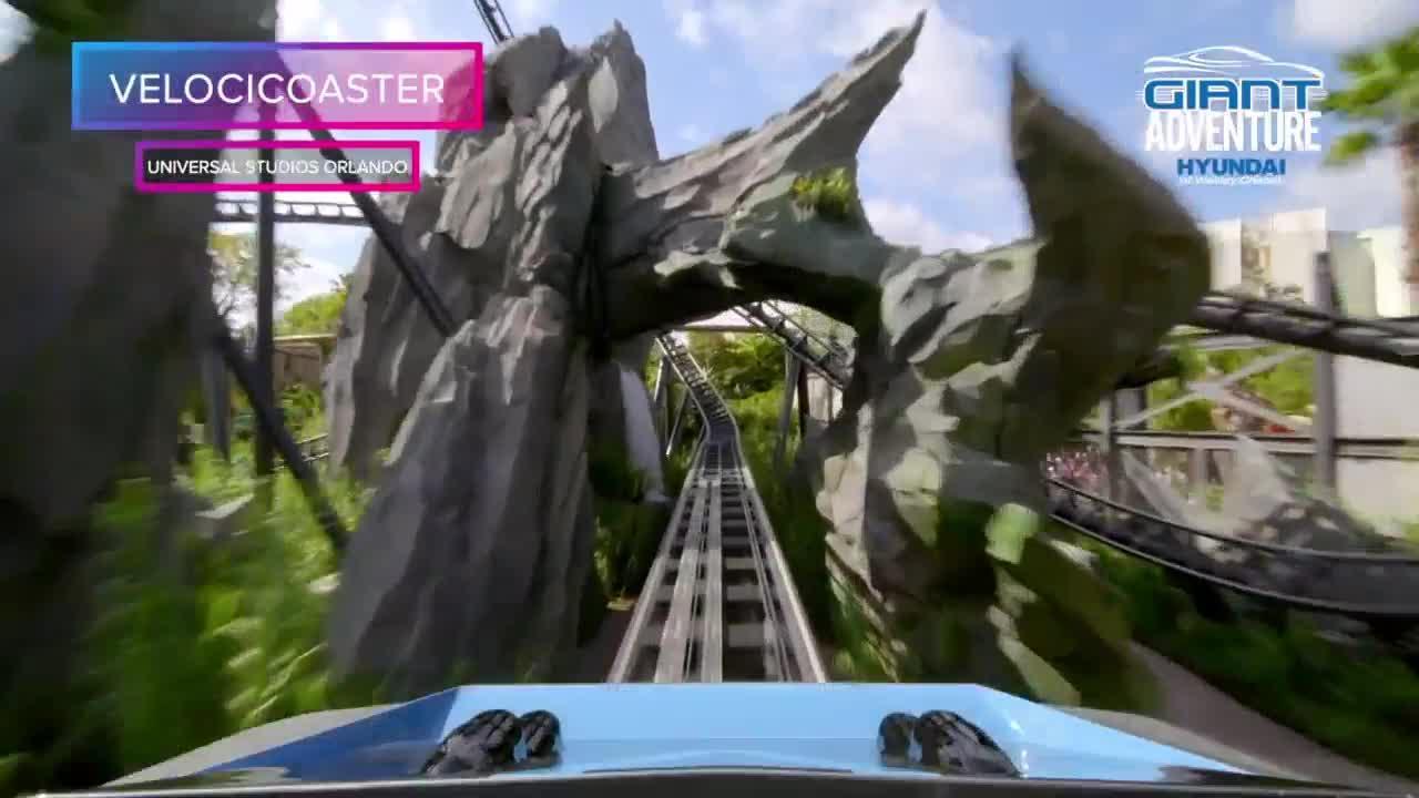 Jurassic World's VelociCoaster opens at Universal Studios Orlando | Giant Adventure