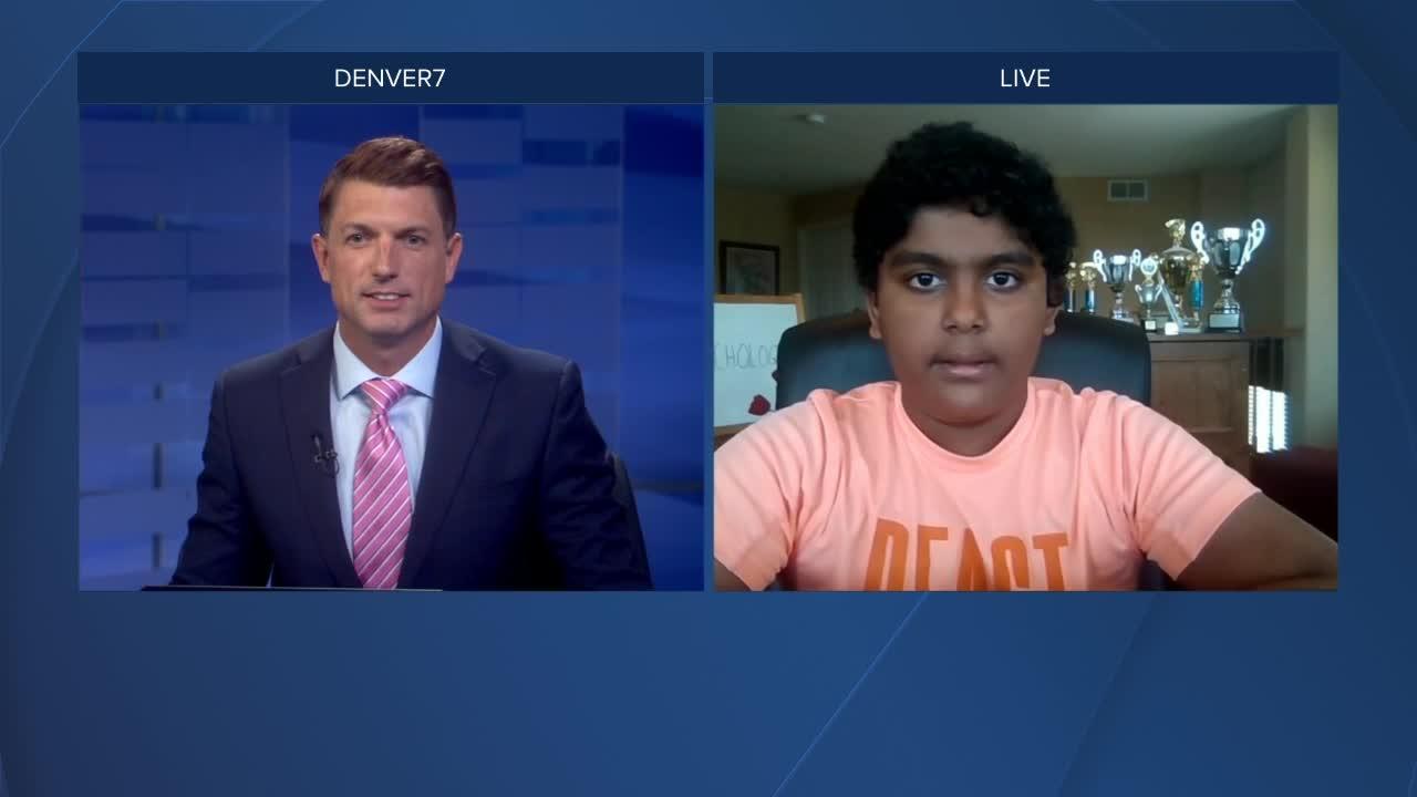 Meet Vikram -- one of Colorado's Spelling Bee competitors
