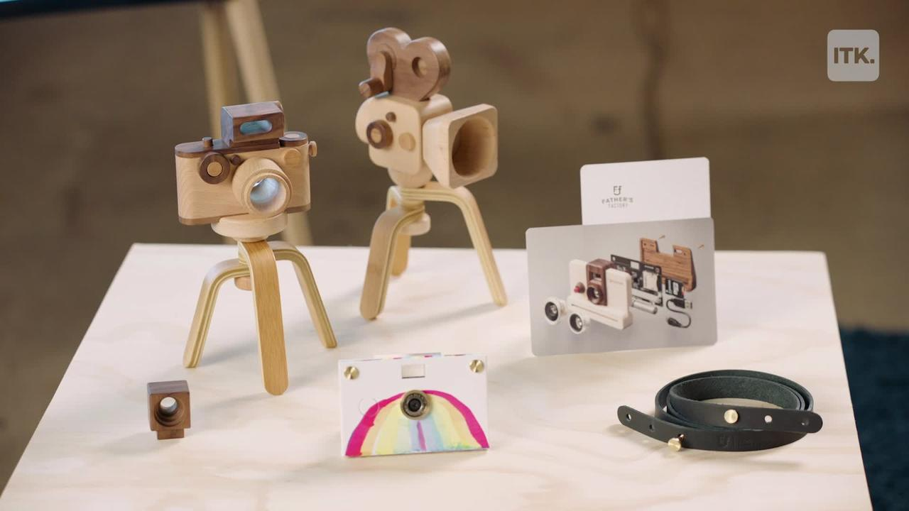 Father's Factory creates beautifully crafted toys that are made to last