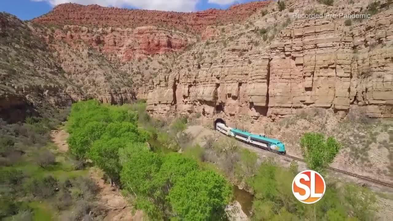 Verde Canyon Railroad: The Grape Train Escape!