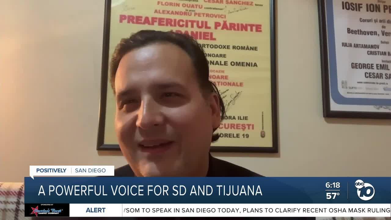 A powerful voice for San Diego, Tijuana