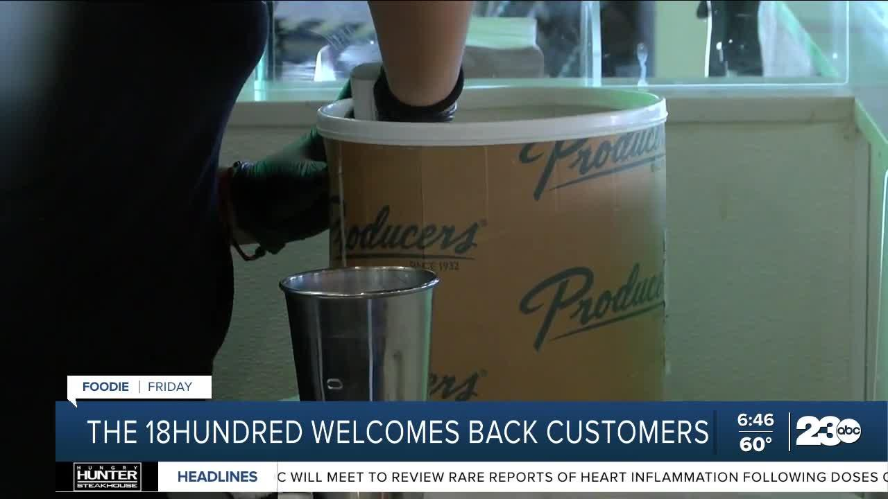 Foodie Friday: 18Hundred welcoming back community members