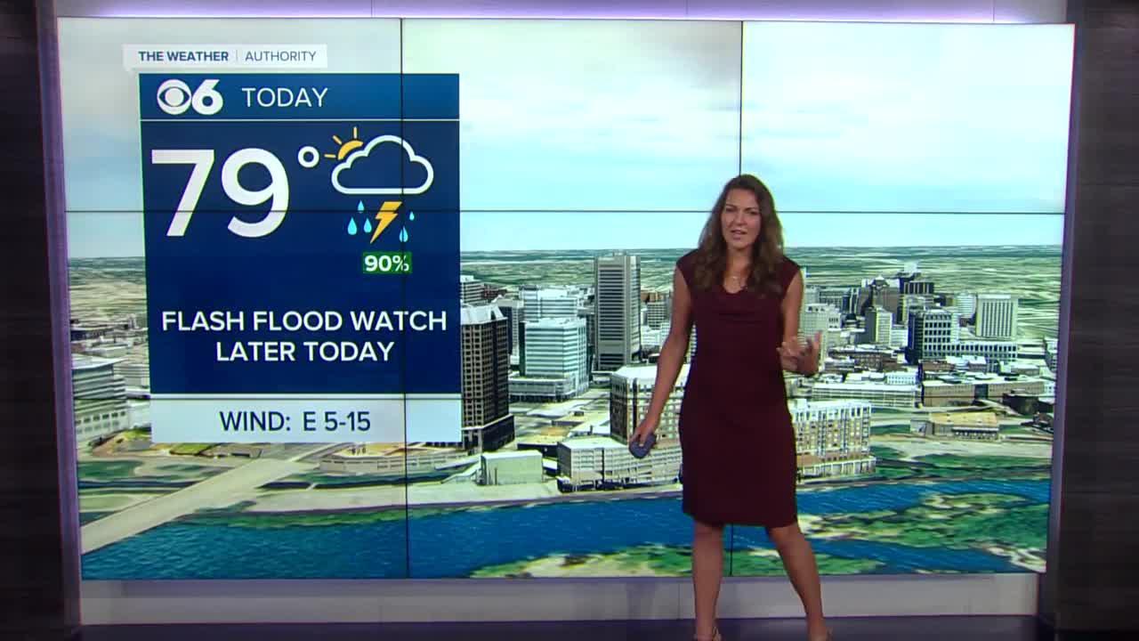 Frances' Rainy Noon Forecast