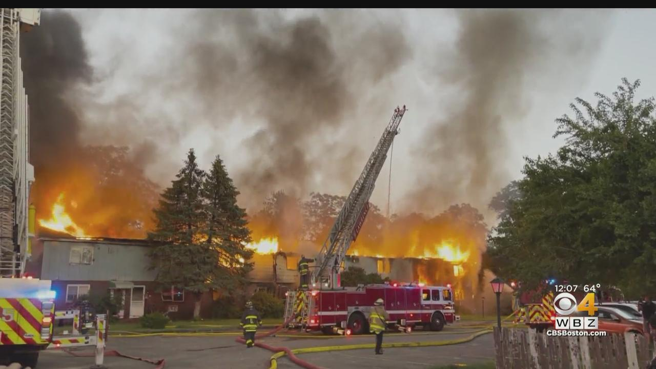 More Than A Dozen People Forced Out Of Townhomes In Lawrence After Massive Fire