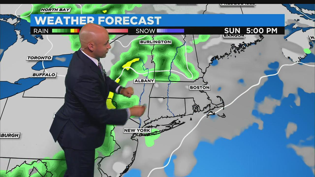 WBZ Midday Forecast For June 11