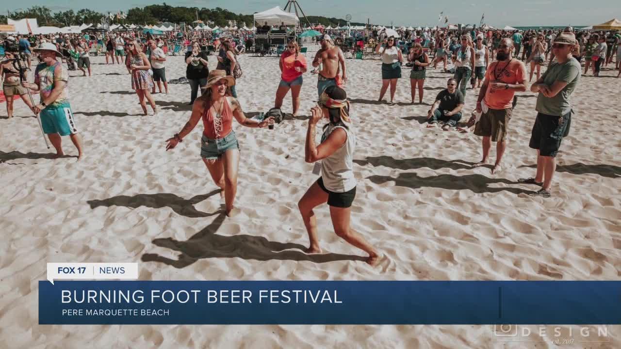Burning Foot Beer Festival this weekend
