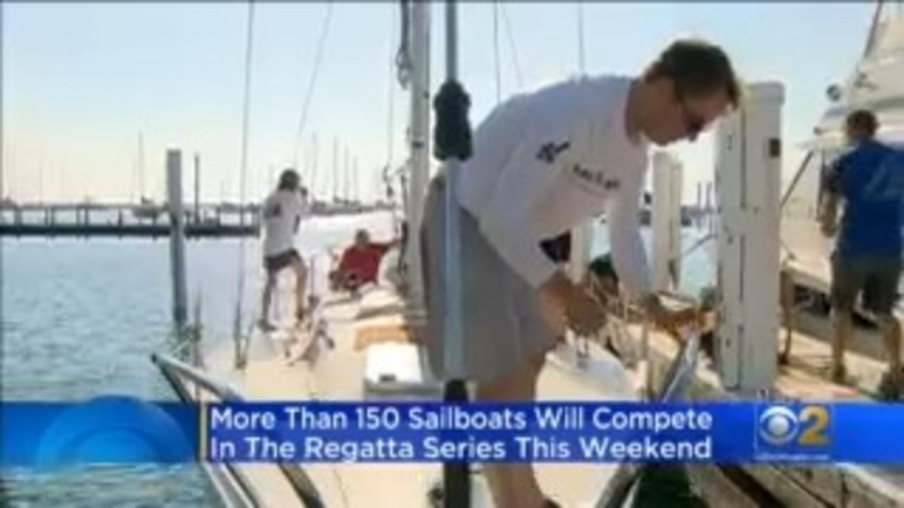 Chicago Yachts Getting Regatta Ready