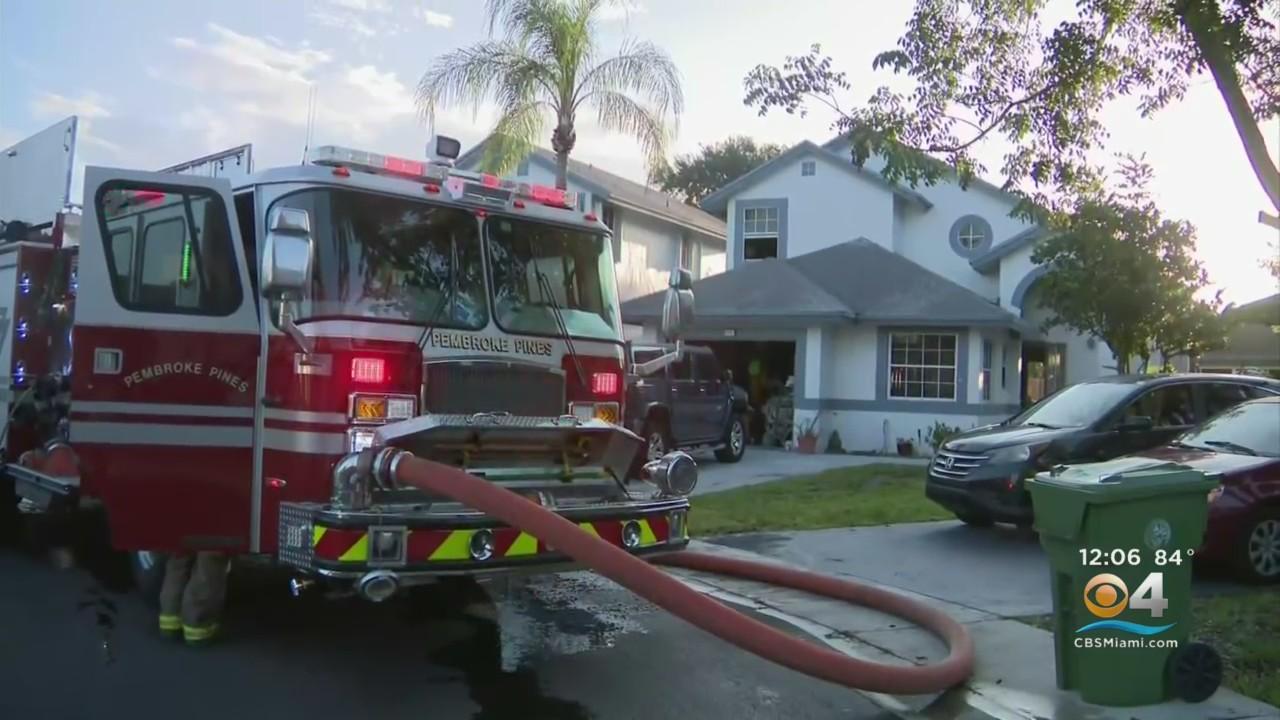 Pembroke Pines Home, Boat Damaged In Fire