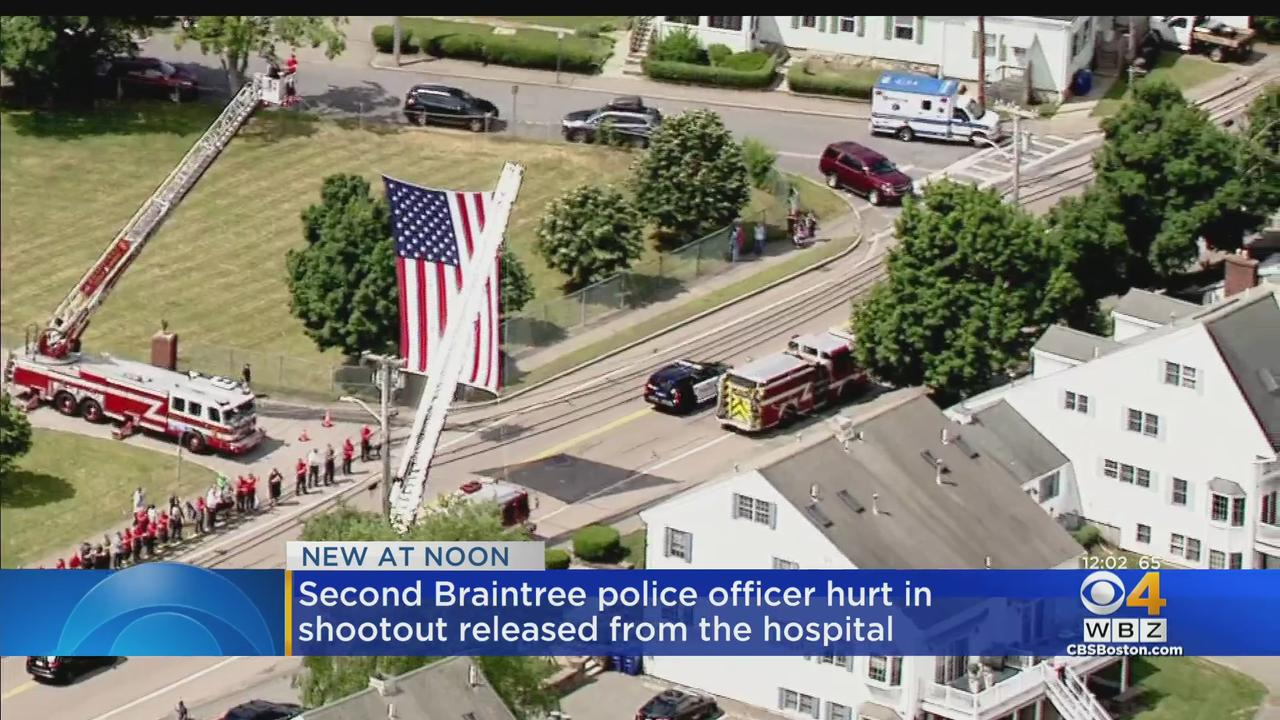 Braintree Police Officer Bill Cushing Released From Hospital With Procession Week After Shootout