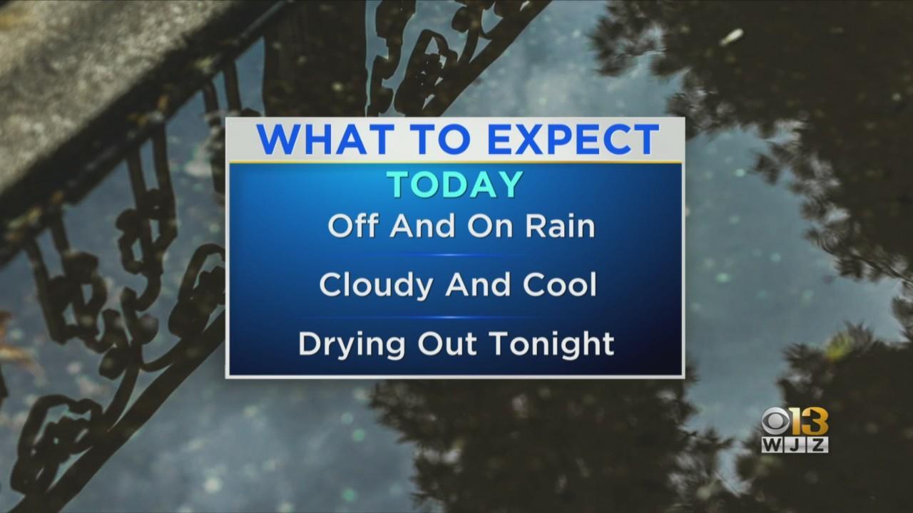 Rain Continues Friday Through Maryland