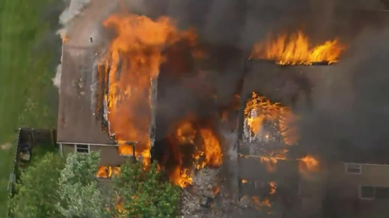 Homeowner's Body Found Following Explosions, Massive Fire In Eagleville