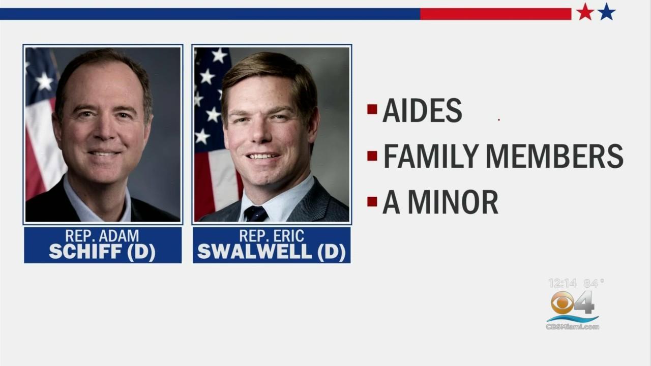 Democrats Angry That Trump DOJ  Subpoenaed Records For Two Congressmen