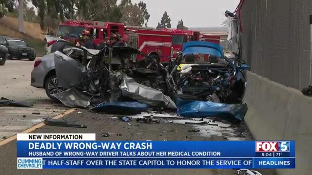 Family of wrong-way driver worries diabetes played part in crash that killed married police officers