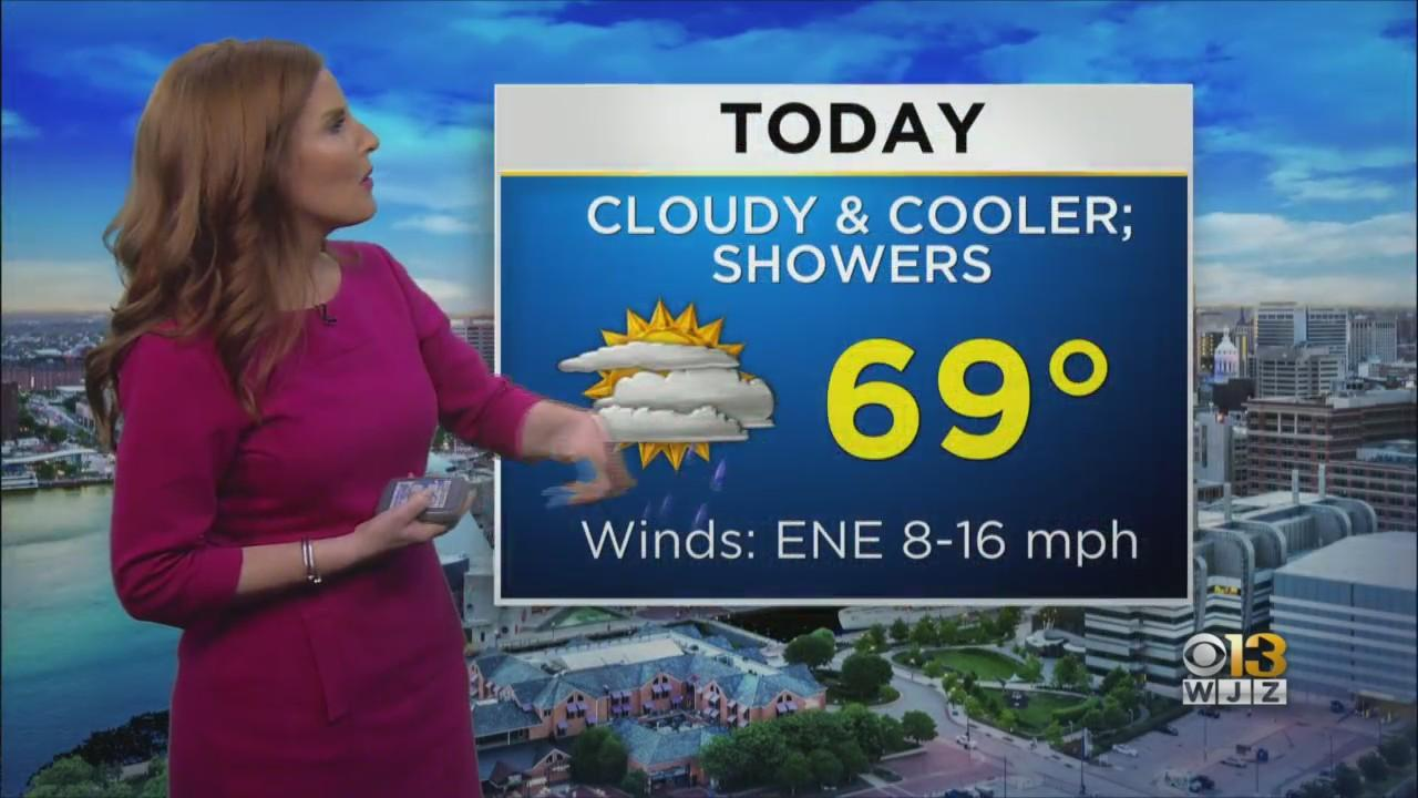 Meteorologist Meg McNamara Has Your Friday Afternoon Forecast