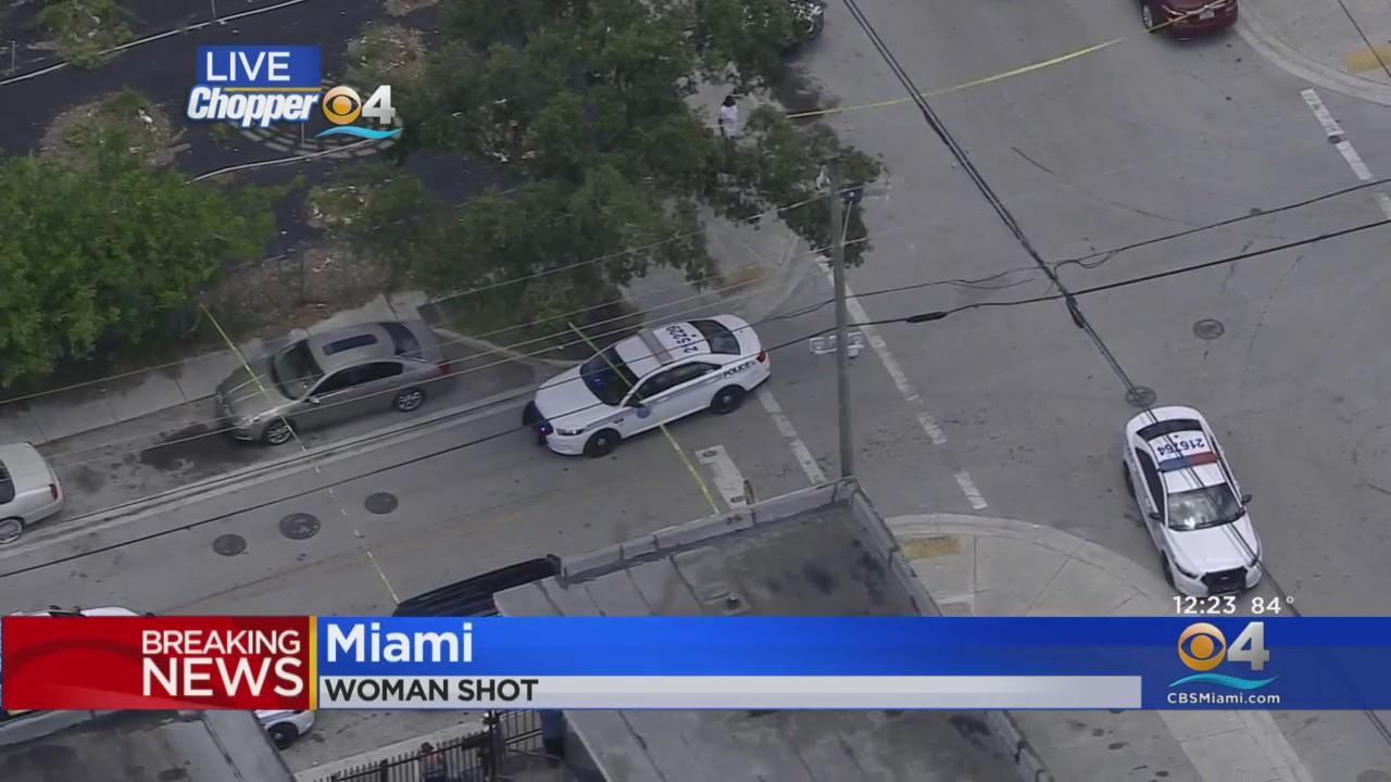 Woman Shot In Downtown Miami