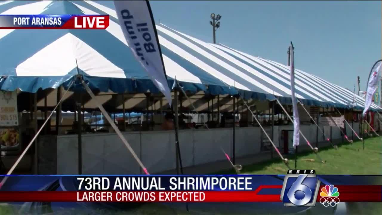 Shrimporee set for roaring start