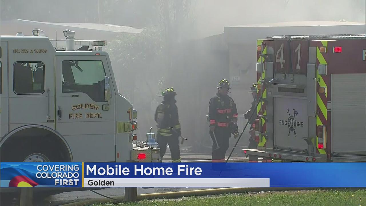 Deputy And 2 Firefighters Treated For Injuries After Mobile Home Fire In Jefferson County