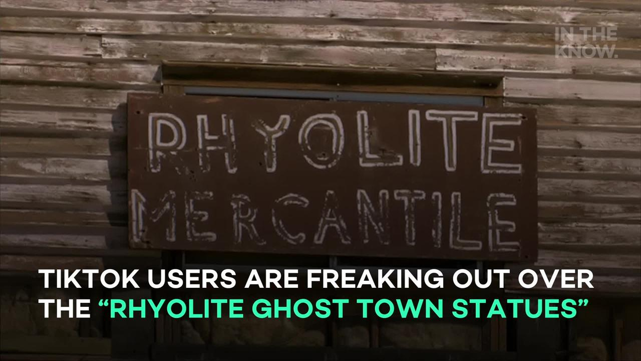 TikTokers are freaking out over this abandoned town full of 'creepy' statues