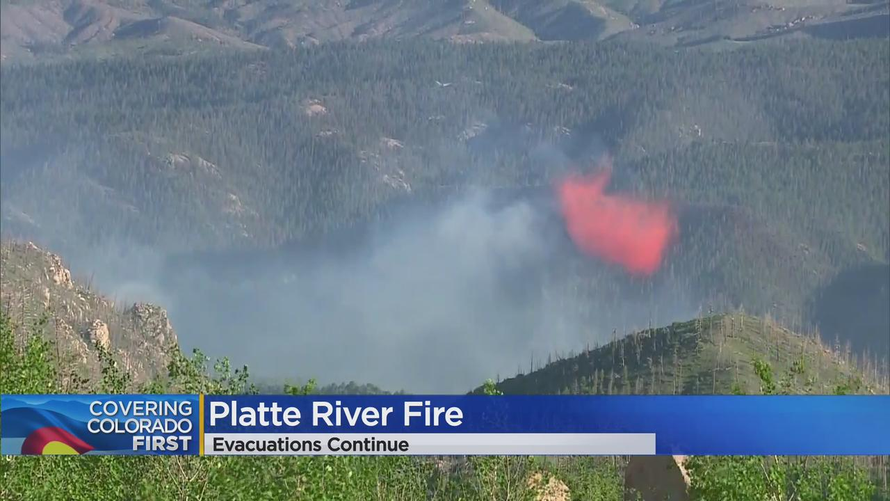 Platte River Fire: Evacuations Remain As 30+ Acre Jefferson County Wildfire Burns Near Structures