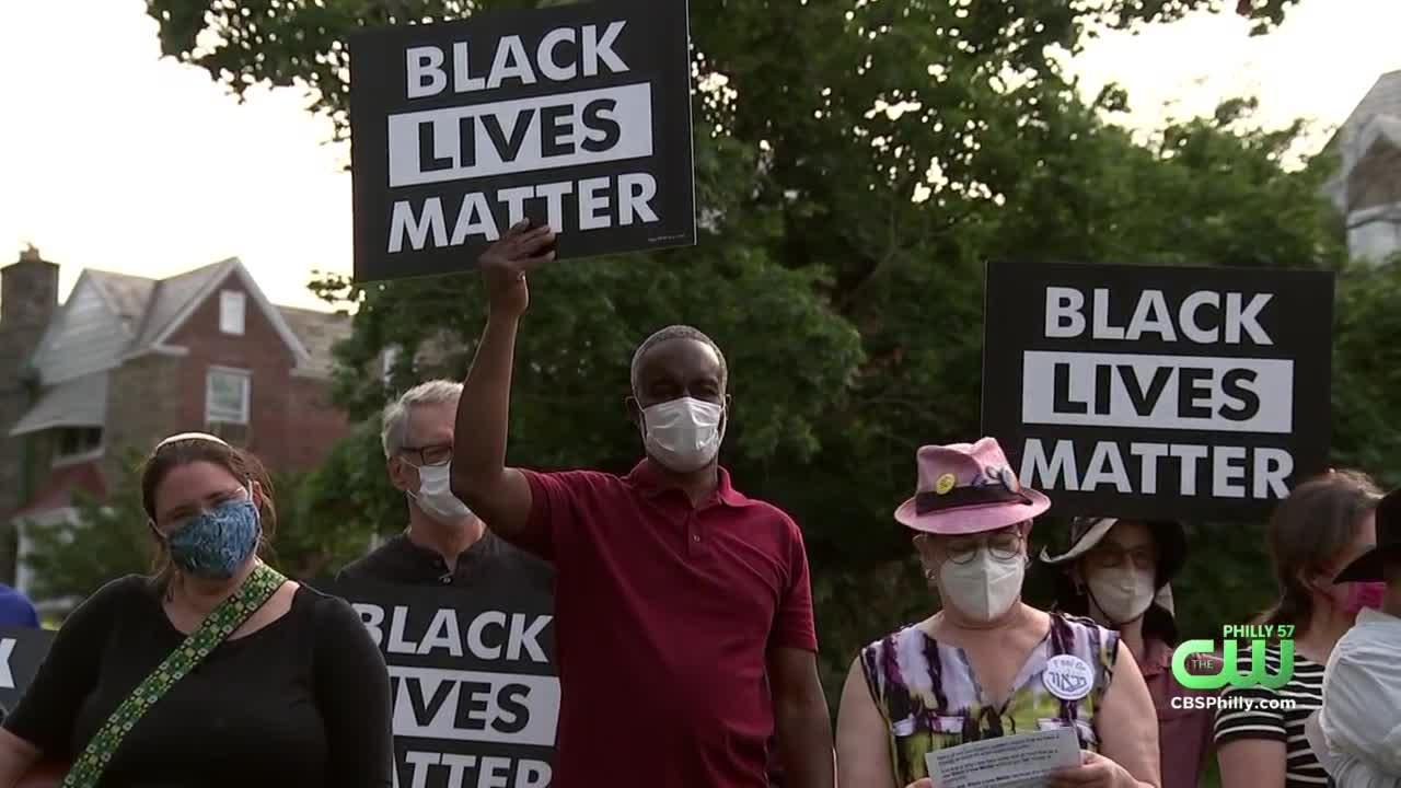 Mount Airy Jewish Community Rallies Against Racism After Black Lives Matter Sign Vandalized