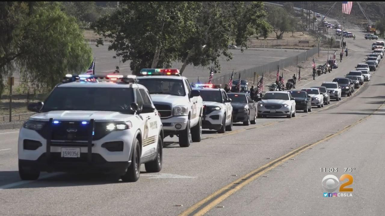 Procession, Memorial Friday For Fallen San Bernardino Sheriff's Sgt. Dominic Vaca