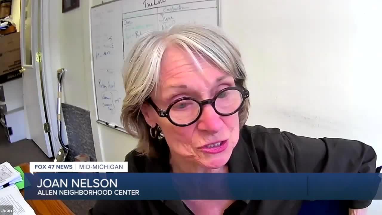Joan Nelson heads up the Allen Neighborhood Center.
