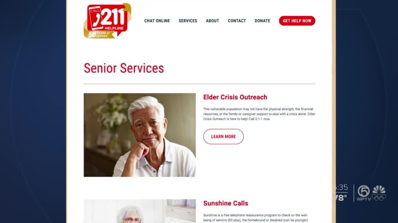 211 Helpline has new lifeline for caregivers