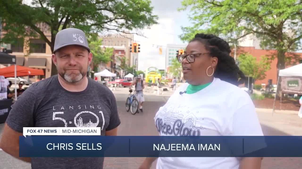 Najeema Iman from YouShine events