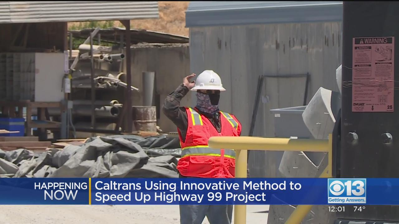 Caltrans Preparing For Long Highway 99 Closure Work