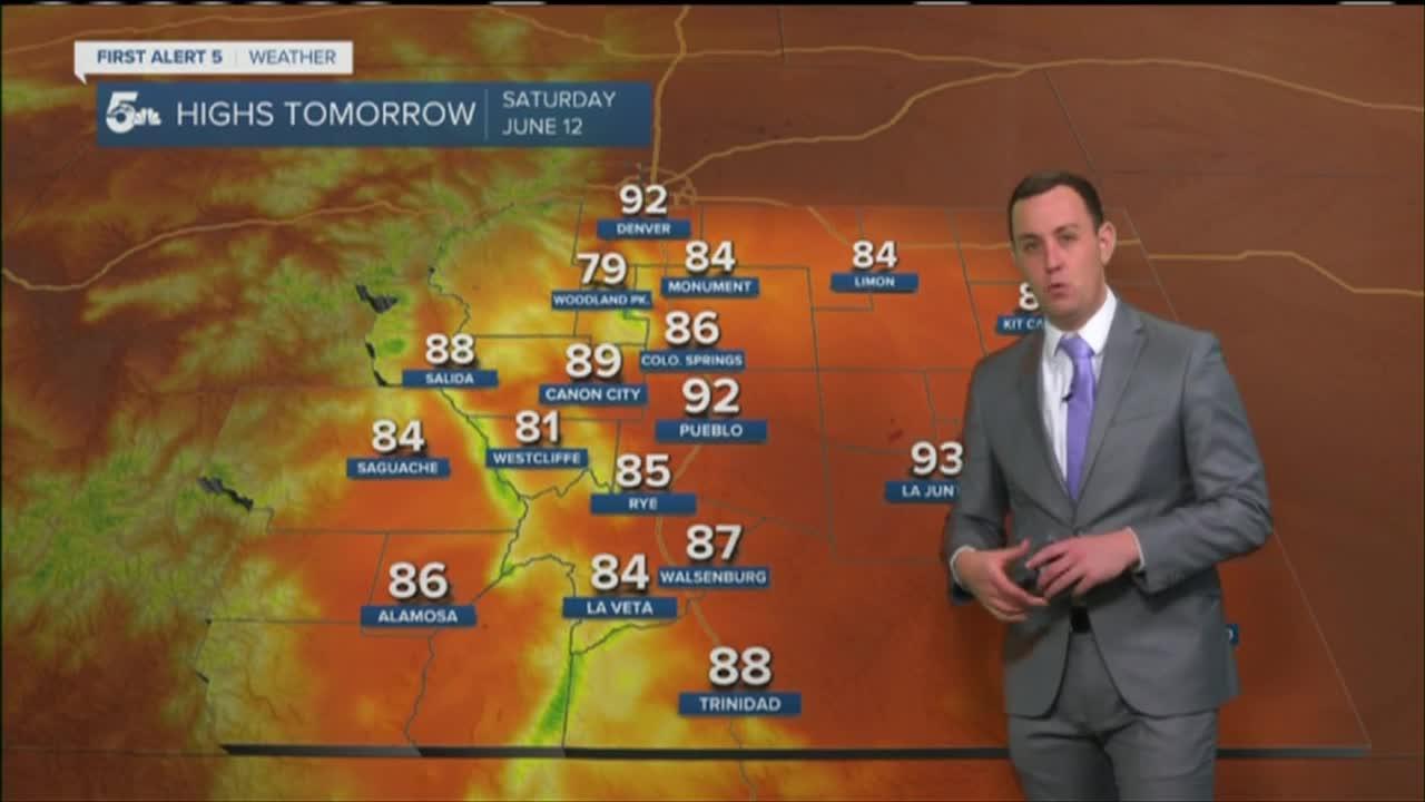 Brief heat relief today before bigger heat returns next week