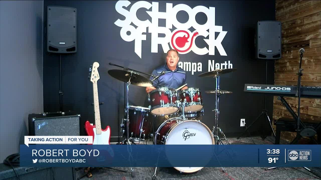 New School of Rock location in Tampa provides outlet for kids following pandemic