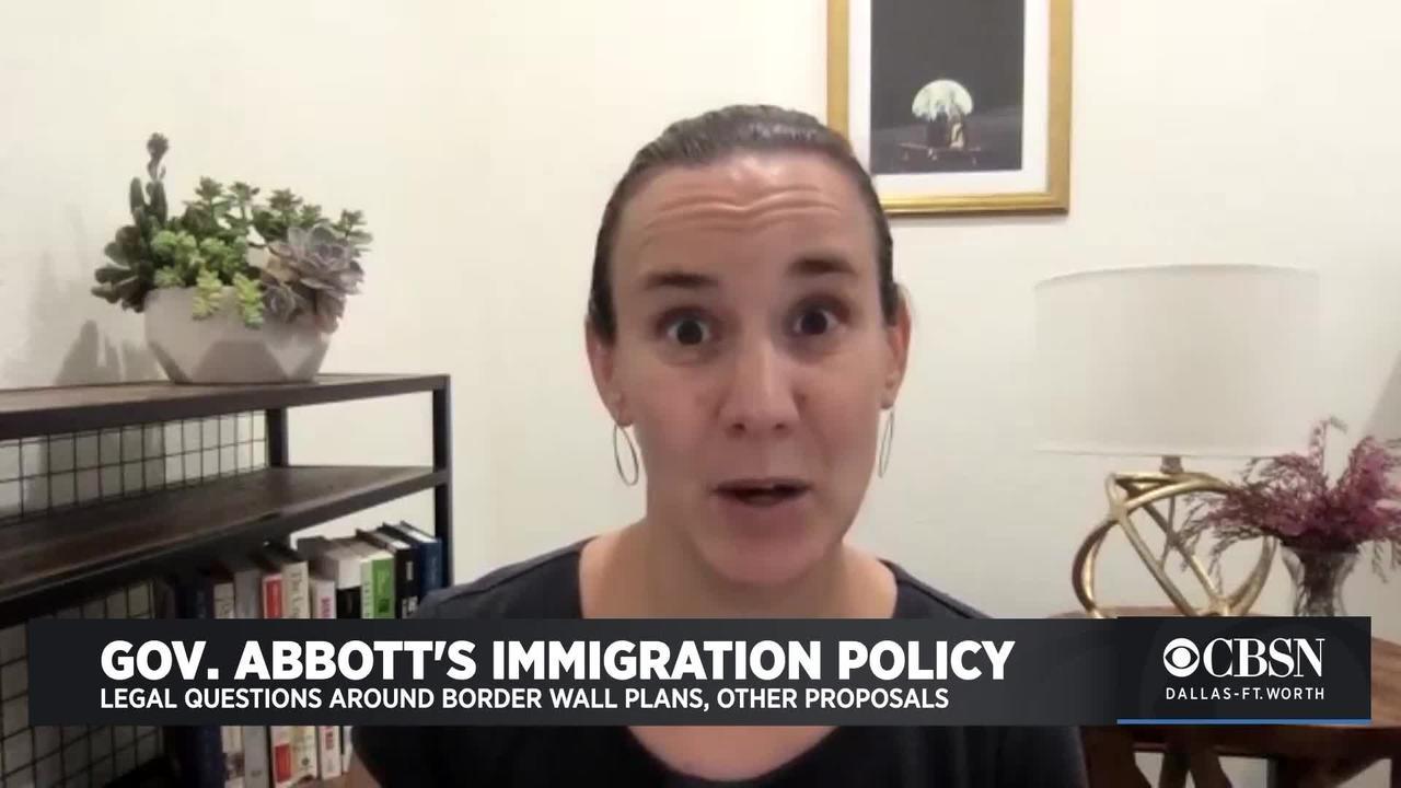 SMU Law Professor On Gov. Abbott's Immigration Policy