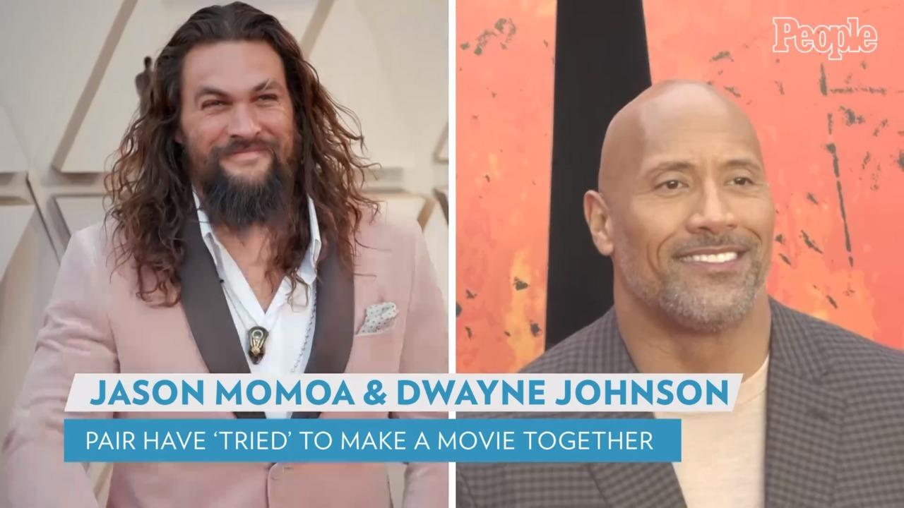 Jason Momoa Says He Wants to Make a Movie with Dwayne Johnson: 'One of These Days'