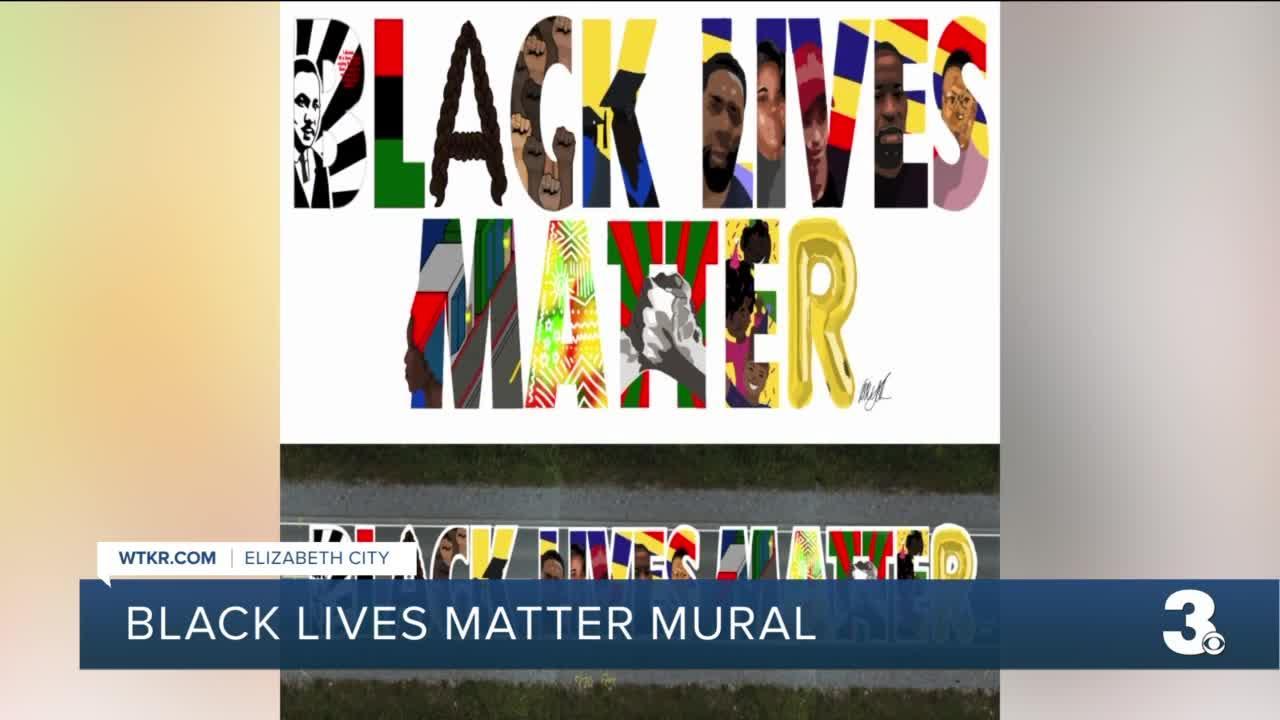 Voting underway to select design for Elizabeth City Black Lives Matter mural